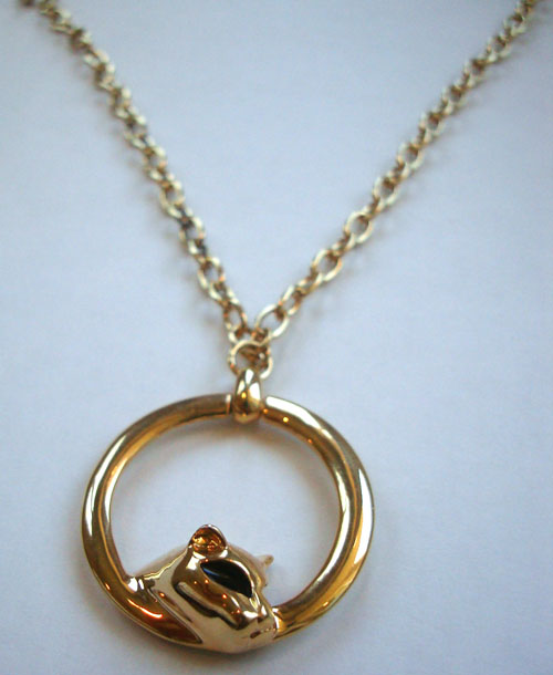 Panther Medallion Necklace