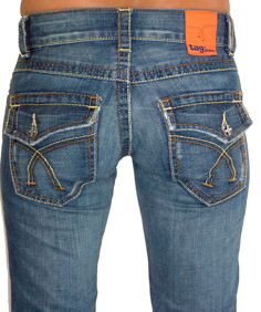 Tag + Karin Twisted Jeans
