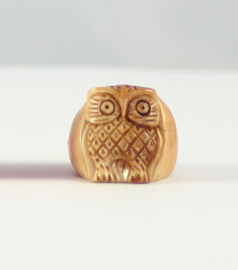 Kris Nations Owl Ring (Butterscotch)