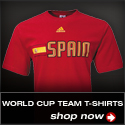 World Cup Team T-Shirts
