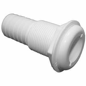 T & H Marine Nylon Straight Thru-Hulls -White