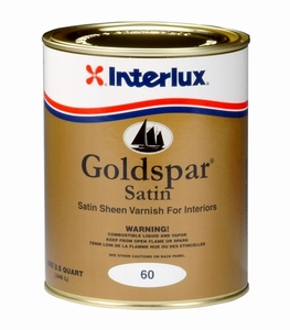 Interlux Goldspar Satin Yacht Varnish
