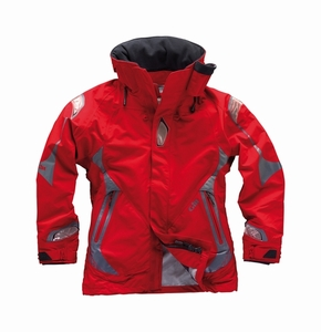 OS21JW Offshore Key West Women's Jacket: Red - Graphite