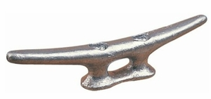 "Sea-Dog Open Base Cleat 6"" Galvanized (040106)"