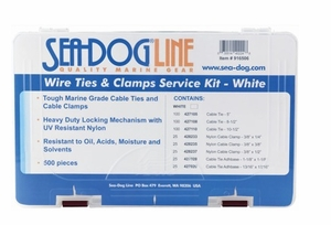 Sea-Dog Wire Ties & Clamps Service Kit