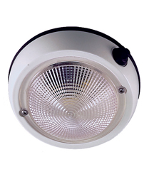 """Exterior Surface Mount Dome Light 5"""""""