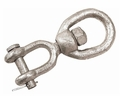 Sea-Dog Eye & Jaw Swivel Galvanized