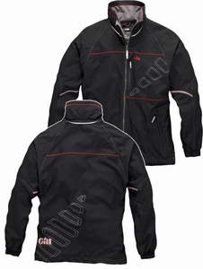 1050 Sail Jacket: Silver - Black