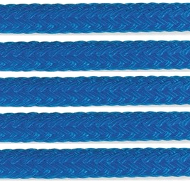 Samson Solid Color Double Braid Pre-Spliced Dock Line -Blue