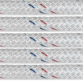 Samson Super Strong Double Braid Pre-Spliced Dock Lines -White