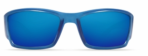 Costa 580G Corbina Sunglasses: Sky Blue / Blue Mirror Mfg#CB-465-OBMGLP
