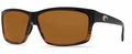 Costa 580P Cut Sunglasses: Coconut Fade / Amber Mfg#UT-52-OAP