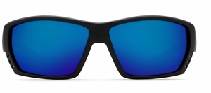 Costa 580G Tuna Alley Sunglasses: Black Out / Blue Mirror Mfg#TA-01-OBMGLP