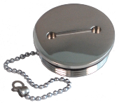 Sea-Dog Cap for Hose Deck Fill 316 S.S (351390-1)