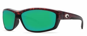 Costa Saltbreak Sunglasses: Tortoise / Green Mirror MFG#BK-10-GMGLP