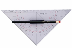 Weems & Plath Protractor Triangle with Handle Mfg# 101