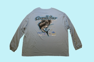 Fishing Team Qualifier SPF Long Sleeve -Blue
