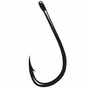 Gamakatsu Octopus Hooks, Inline Point Straight Eye 4X Strong -NSB