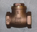 Swing Type Check Valve, Bronze