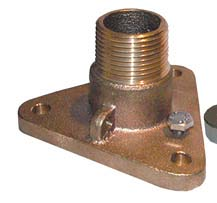 Groco Flanged Adapter IBVF