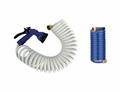 Whitecap 15' Foot Coiled Washdown Hose W/ Nozzle