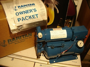 Raritan Super Galley Mate Water Pressure System MFG#GMPT