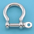 Suncor Bow Shackles W/ Screw Pin 316 S.S