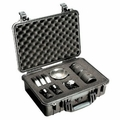 Pelican 1500 Case w/Foam (Black)(yellow)