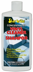 Star Brite Vinyl Shampoo & Wash 16oz. Mfg# 080216P