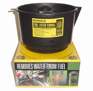Shurhold Fuel Filter Funnel, 3.5 GPM - SIF3C