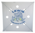 Lewis Extra Heavy Wind Fishing Kite -Mfg# 100XH