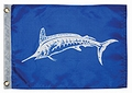 "12"" x 18"" White Marlin Capture Flag"
