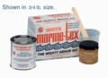 White Travaco Marine Tex Jr Kit