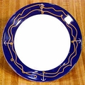 "Non-Skid Anchorline 10"" Dinner Plate"