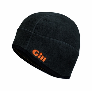 Windproof Fleece Hat - MFG#HT8 - Black/Orange
