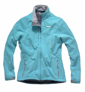 Woman's Softshell Jacket: Blue - Graphite