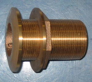 Groco Bronze Thru-Hull 1 1/4in