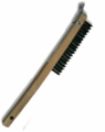 SM Arnold Stainless Wire Brush with Scraper - 85-596