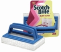 3M White Bath Scrubber - 7723