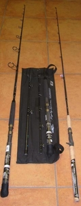 Tsunami 3 piece Traveling Rods