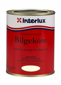 Interlux Bilgekote Topside Paint - MFG#YMA102 - White