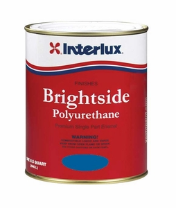 Interlux Brightside Polyurethane Topside Paint - MFG#4100 - Largo Blue