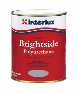 Interlux Brightside Polyurethane Topside Paint - MFG#4250 - Steel Gray
