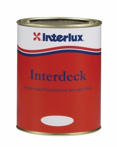 Interlux Interdeck Topside No-Skid Paint - MFG#YJF684/Q - White