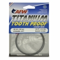 AFW Titanium Toothproof -Black (40LB) 15FT -MFG#ST1040B-15FT