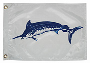 "12"" x 18"" Blue Marlin Capture Flag"