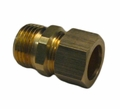 ACR Yellow Brass Compression Male Adapter x MIP Fittings