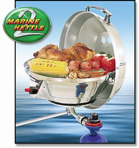 """Magma 15"""" Marine Kettle 2 Combination Stove & Gas Grill A10-207"""