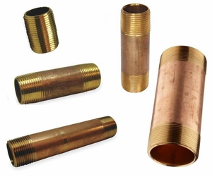 ACR Bronze Pipe Nipples 1/8""