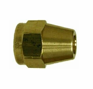 ACR Yellow Brass 45 Degree Flared Short Rod Nuts